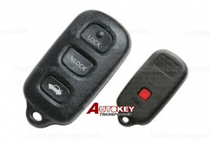 for lexus 3+1  remote set