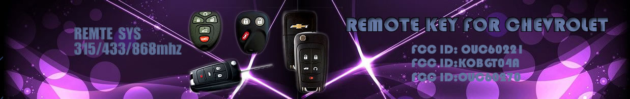 chevrolet remote and key