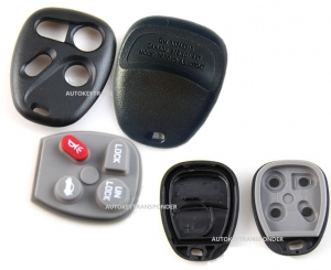 For GM/Buick/ Chevrolet Remote case 3/4button