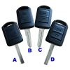 For Opel remote key