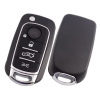 for fiat 4button flip key shell