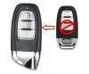 Smart Key Fob For Audi A4 A5 S4 S5 Q5 (Lamborghini Style)