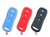 for NISSAN 3BUTTON Silicon Rubber Case