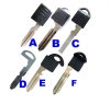 For Infiniti/Nissan Emergency key blade