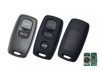 for mazda 3button remote key/case