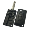 for peugeot 2button flip key shell