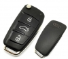 for AUDI A6L Q7 flip key with 8e chip