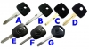 mercedes Benz transponder key
