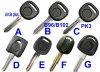 CHEVROLET  bucik gmc pantic transponder key shell