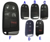For  Chrysler Dodge smart card case