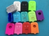 3 Buttons Silicone Car Remote Key Case Fob Cover Holder Soft Fit For Alfa Romeo 159 Brera 156 Q4 GT 946 Spider Key Shell