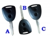 Remote Key Shell Fob Blank Fit For Toyota Perodua