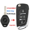 Upgraded flip remote key for old bmw remote key