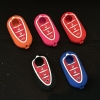 For Alfa Romeo Mito Giulietta Brera 4C 159 GTA Skin Holder Protector 3 Button Silicone Car Remote Key Fob Shell Cover Case