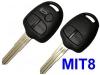MITSUBISHI 3button Remote Key shell MIT8 blade