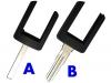 Opel Remote Key head(flat blade)