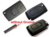 PEUGEOT 307 2button Flip Remote Key(with Groove) 433mhz 0523