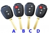 For  New toyota Camry Remote Key 434mhz/314.4mhz