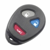 For GMC 2+1 Button remote case