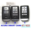 Smart Card For Honda Acura ILX/RLX/TLX