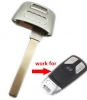 For Emergency key blade for AUDI (A4l/A5/Q7/TT)