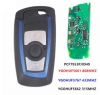 Blue Remote Key Fob 315MHz YGOHUF5662,434MHz HUF5767,868 MHz HUF5661 For 2009-2016 BMW 5 7 F Series FEM / BDC CAS4 CAS4+