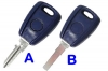 Fiat Transponder key