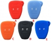for chrysler 2BUTTON Silicon Rubber Case