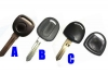 TRANSPONDER KEY SHELL FOR BUICK