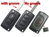 Citroen C3 Flip Remote Key