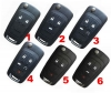Buick/CHEVROLET/GMC Flip REMOTE Key