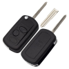 for landrover 2button flip key shell