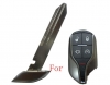 Maserati emergency key blade