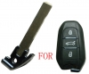 Citroen emergency key blade