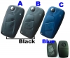 fiat flip remote case 2/3button