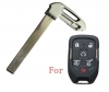 Chevrolet BUICK GMC emergency key blade