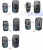 Chrysler Jeep Dodge Remote Shell 3 button
