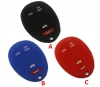 for GM/BUICK/CHEVROLET Silicon Rubber Case