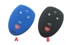 for GM 5button  silicon rubber key cover