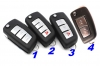 Nissan flip remote key
