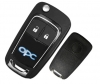 Opel 2button Flip remote Key