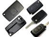 PEUGEOT 407  Flip Key Case  without battery frame