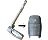 Toyota emergency key blade
