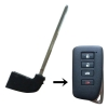 Toyota emergency key blade for smart card