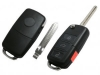 For Toyota 3Butten Flip Remote Key  For FCC: HYQ12BBY