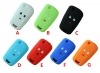 for chevrolet 3button silicon rubber case